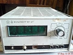 вольтметр B7-27